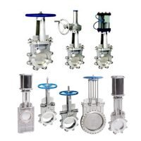 10.Knife gate valve